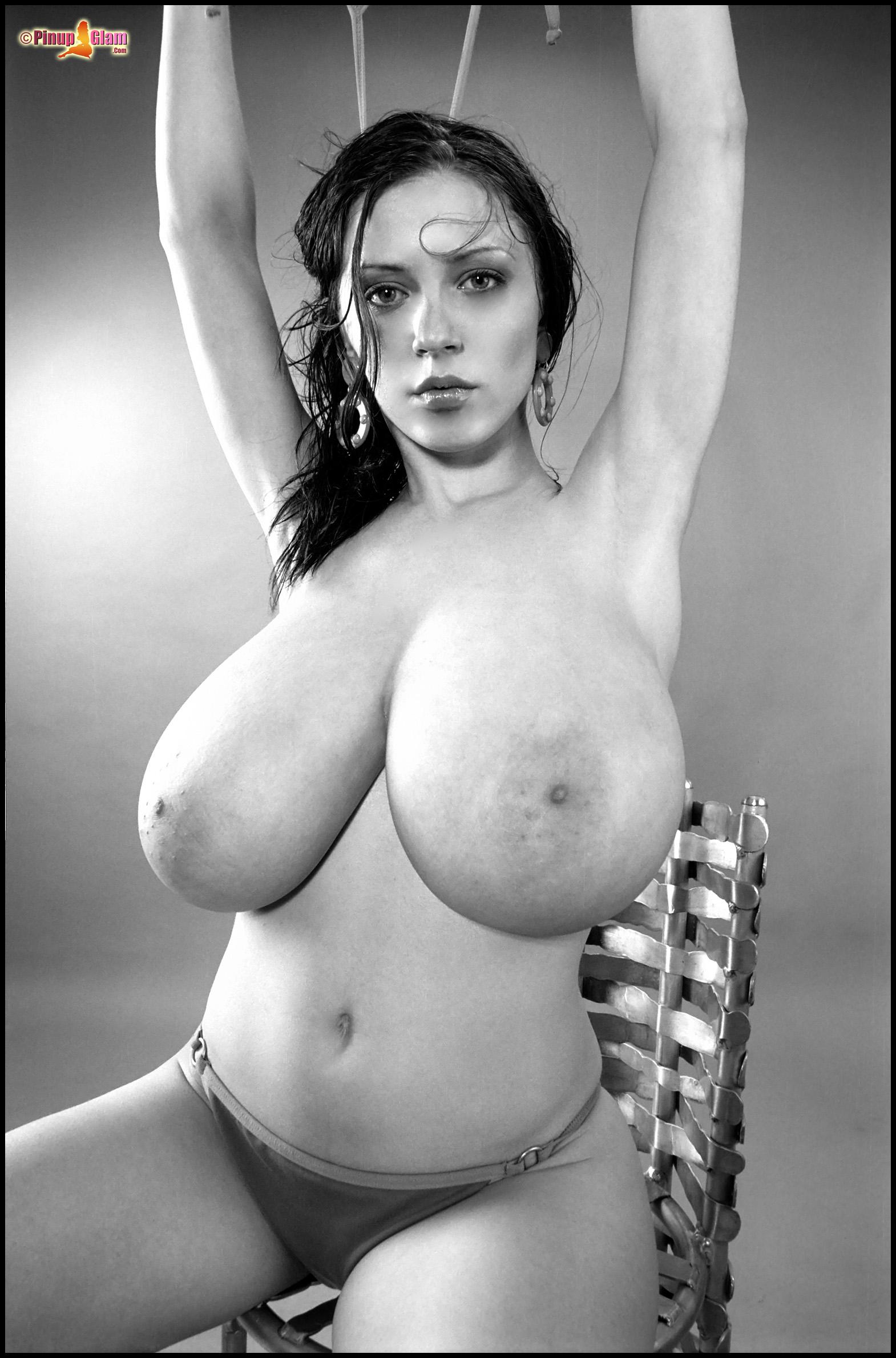 Big tits pin up